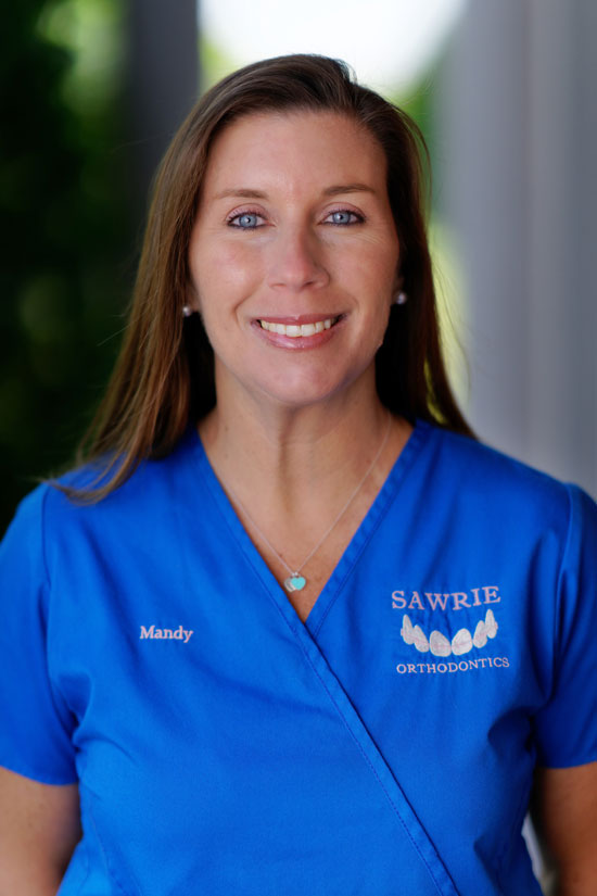 Mandy Patterson, Clinical Technician at Sawrie Orthodontics
