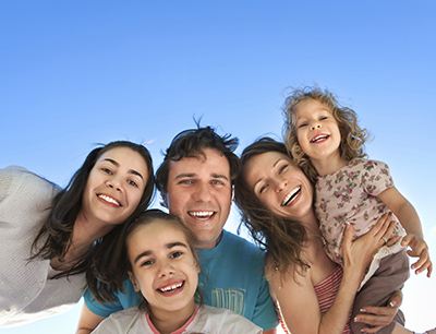 Chattanooga, TN family smiling about their orthodontic visit.